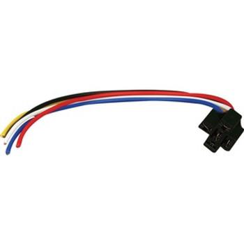 The InstallBay 12 Inch Lead Wire Relay Socket Locking Each ERS-123