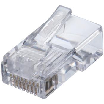 IDEAL Feed-Thru CAT5e RJ-45 8P8C Modular Plugs 85-372
