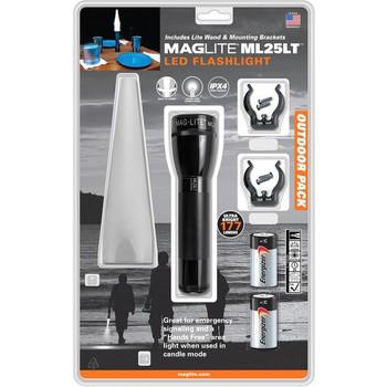 MagLite ML25LT LED Flashlight Adventure Pack
