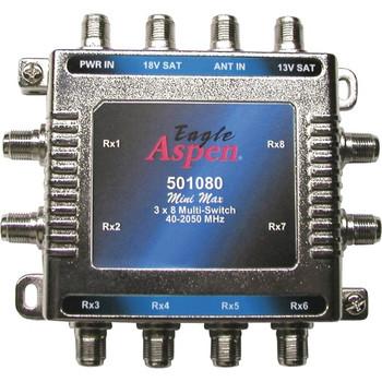 Eagle Aspen 501080 3 x 8 Signal Splitter/Combiner