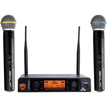 Dual-Transmitter Digital Wireless Microphone System (2 Digital HT(TM) Handheld Microphones)
