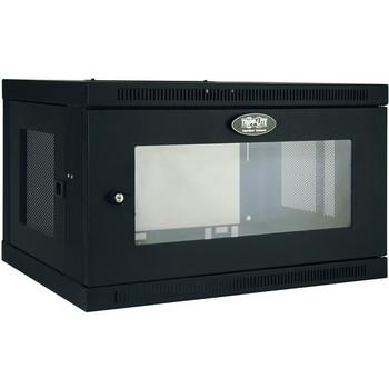 Tripp Lite 6U Wall Mount Rack Enclosure Server Cabinet w/ Acrylic Window - TRPSRW6UG