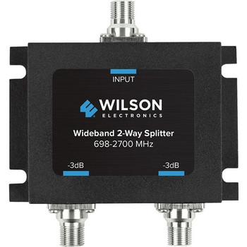 Wilson -3dB 2-Way Splitter 698-2700MHz, 75ohm - WSN850034