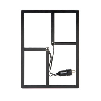 Cable Cutter METRO Indoor/Outdoor HDTV Antenna (Black)