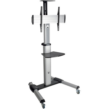 """Tripp Lite Mobile TV Floor Stand Cart Height-Adjustable LCD 32-70"""" Display - TRPDMCS3270XP"""