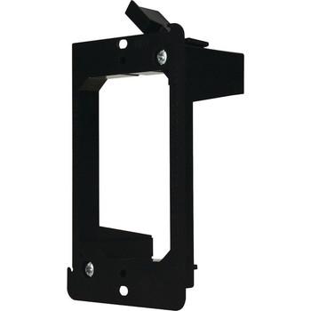 DataComm Mounting Bracket for Wall Plate - Black