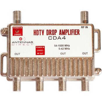 Antennas Direct 4 Way TV / CATV Distribution Amplifier