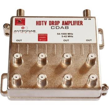 Antennas Direct 8 Way TV / CATV Distribution Amplifier