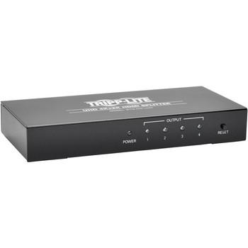 Tripp Lite 4-Port 4K HDMI Video Splitter Ultra-HD 4K x 2K w/ Audio 3840x2160 @ 24/30Hz - TRPB118004UHD