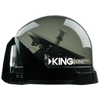 KING One Pro(TM) Premium Satellite TV Antenna