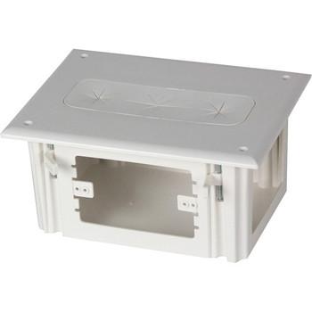 Datacomm Recessed Media Box White