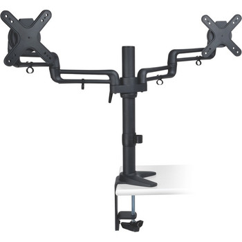 "Tripp Lite Dual Display Flex Desk Mount Clamp 13"" to 27"" Monitors - DDR1327SDFC"