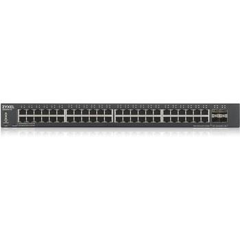 ZYXEL 48-Port GbE Smart Managed Switch with 4 SFP+ Uplink