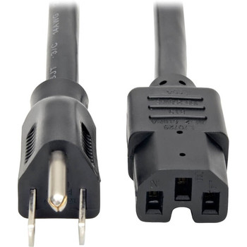 Tripp Lite 8ft Power Cord Cable 5-15P to C15 Heavy Duty 15A 14AWG 8'