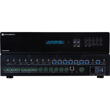 Atlona 4K/UHD Dual-Distance 8x8 HDMI to HDBaseT Matrix Switcher with PoE