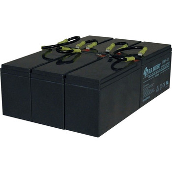 Tripp Lite 3U UPS Replacement Battery Cartridge 72VDC for select SmartOnline UPS Systems 1 set of 6