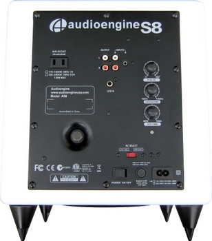 Audioengine S8 Premium Powered Subwoofer - White