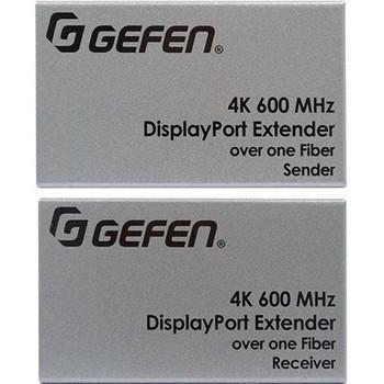 Gefen Ultra HD 600MHz DisplayPort 1.2 Extender over one SC-Terminated FiberOptic Cable