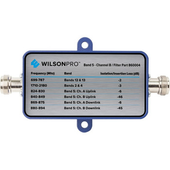 WilsonPro Band 5 Channel B Filter (N Connector) | 860004