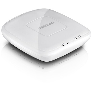 TRENDnet N300 Wireless PoE Access Point with Software Controller; Gigabit; AP; Client; 802.3af; TEW-755AP