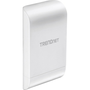 TRENDnet 10dBi Wireless N300 Outdoor PoE Access Point; TEW-740APBO; Point-to-Point (2.4 GHz); Multiple SSID; AP; WDS; Client Bridge; WISP; IPX6 Rated Housing; Built-in 10 dBi Directional Antenna