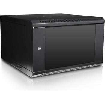 Claytek 6U 600mm Depth Wallmount Server Cabinet with 1U Keyboard Drawer