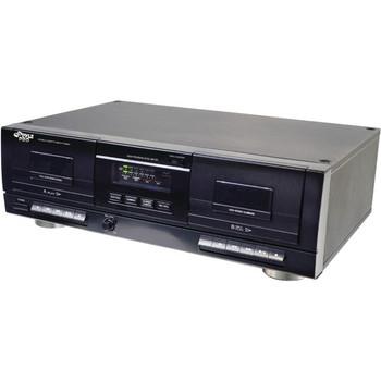 Pyle PT659DU Dual Cassette Deck