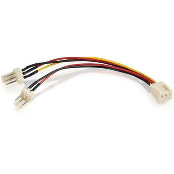 C2G 4in 3-pin Fan Power Y-Cable