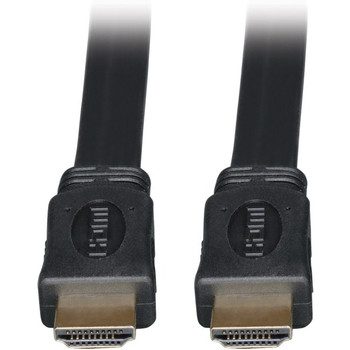 Tripp Lite 3ft High Speed HDMI Cable Digital Video with Audio Flat Shielded 4K x 2K M/M 3'
