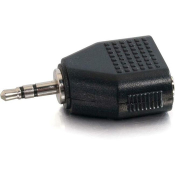 C2G 3.5mm Stereo Male to Dual 3.5mm Stereo Female Adapter