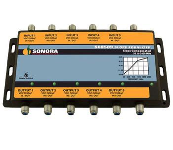 Sonora Design SEQ509 DIRECTV MFH2 Ka/Ku Trunk Cable Slope Equalizer
