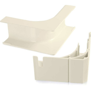 C2G Wiremold Uniduct 2900 Bend Radius Compliant Internal Elbow - Ivory