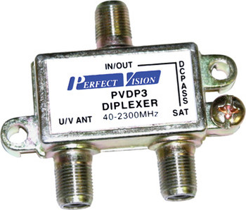 Perfect Vision PVDP3 High Performance Satellite Diplexer