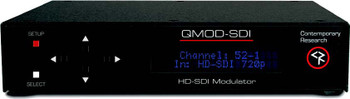 Contemporary Research QMOD-SDI HDTV SDI QAM Modulator / Encoder