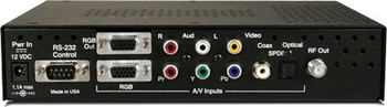 Contemporary Research QMOD-HDSC HDTV QAM Modulator / Scaler
