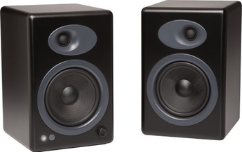 Audioengine A5+ Premium Powered Bookshelf Speakers - Black
