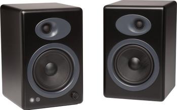 Audioengine A5+ Premium Powered Bookshelf Speakers - Black