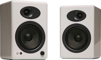 Audioengine A5+ Premium Powered Bookshelf Speakers - White