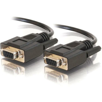 C2G 3ft DB9 F/F Cable - Black