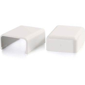 C2G Wiremold Uniduct 2800 Blank End Fitting - White