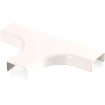 C2G Wiremold Uniduct 2800 Bend Radius Compliant Tee - Fog White