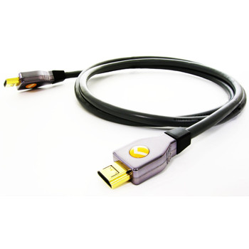 Perfect Path HD-1000-2 2ft Locking HDMI Cable with Ethernet Channel