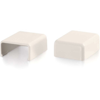 C2G Wiremold Uniduct 2700 Blank End Fitting - Fog White