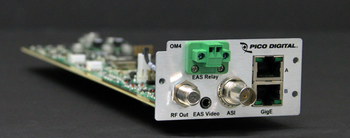 Pico Digital OM4 QAM/OFDM/ASI Output Module for the PD1000