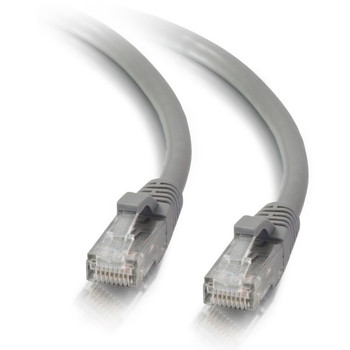 C2G 14ft Cat5e Ethernet Cable - Snagless Unshielded (UTP) - Gray