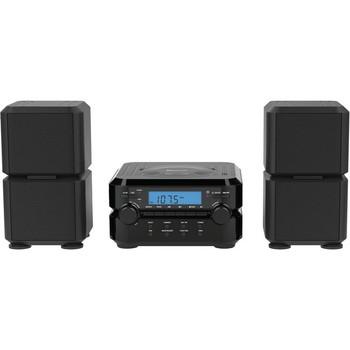 Naxa NS-441 Micro Hi-Fi System - 4.40 W RMS - Black