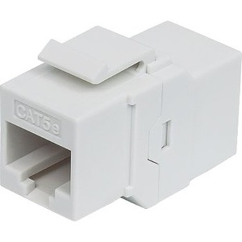 Intellinet Cat5e Inline Coupler, Keystone Type