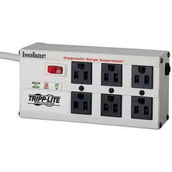 TRIPP LITE ISOBAR6 ULTRA ISOBAR(R) Premium Surge Protector (6-outlet, 6ft cord)