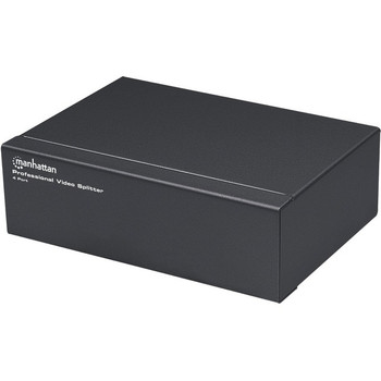 Manhattan 4-Port Professional Video Splitter - VGA, SVGA, MultiSync
