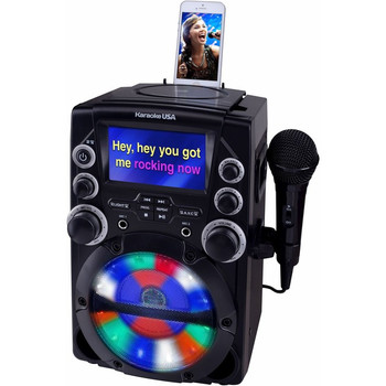 "Karaoke USA GQ740 CDG Karaoke System with 4.3"" Color TFT Screen"